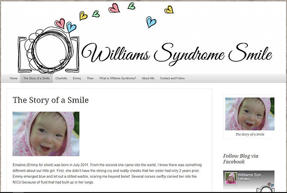 Williams Syndrome Smile (Coggshall, Vanessa)