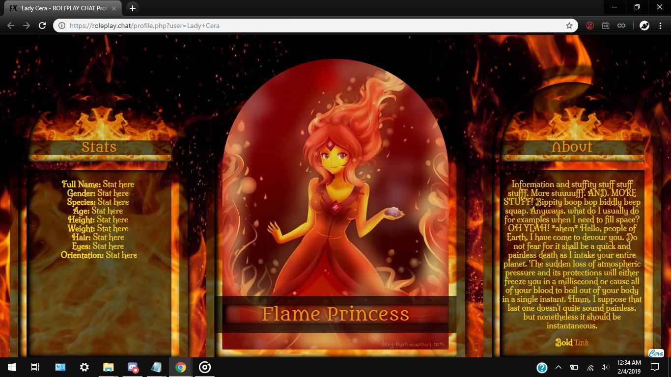 CC#04MNS: Flame +