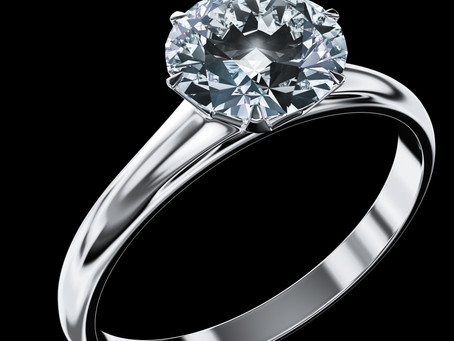 A brief history of engagement rings