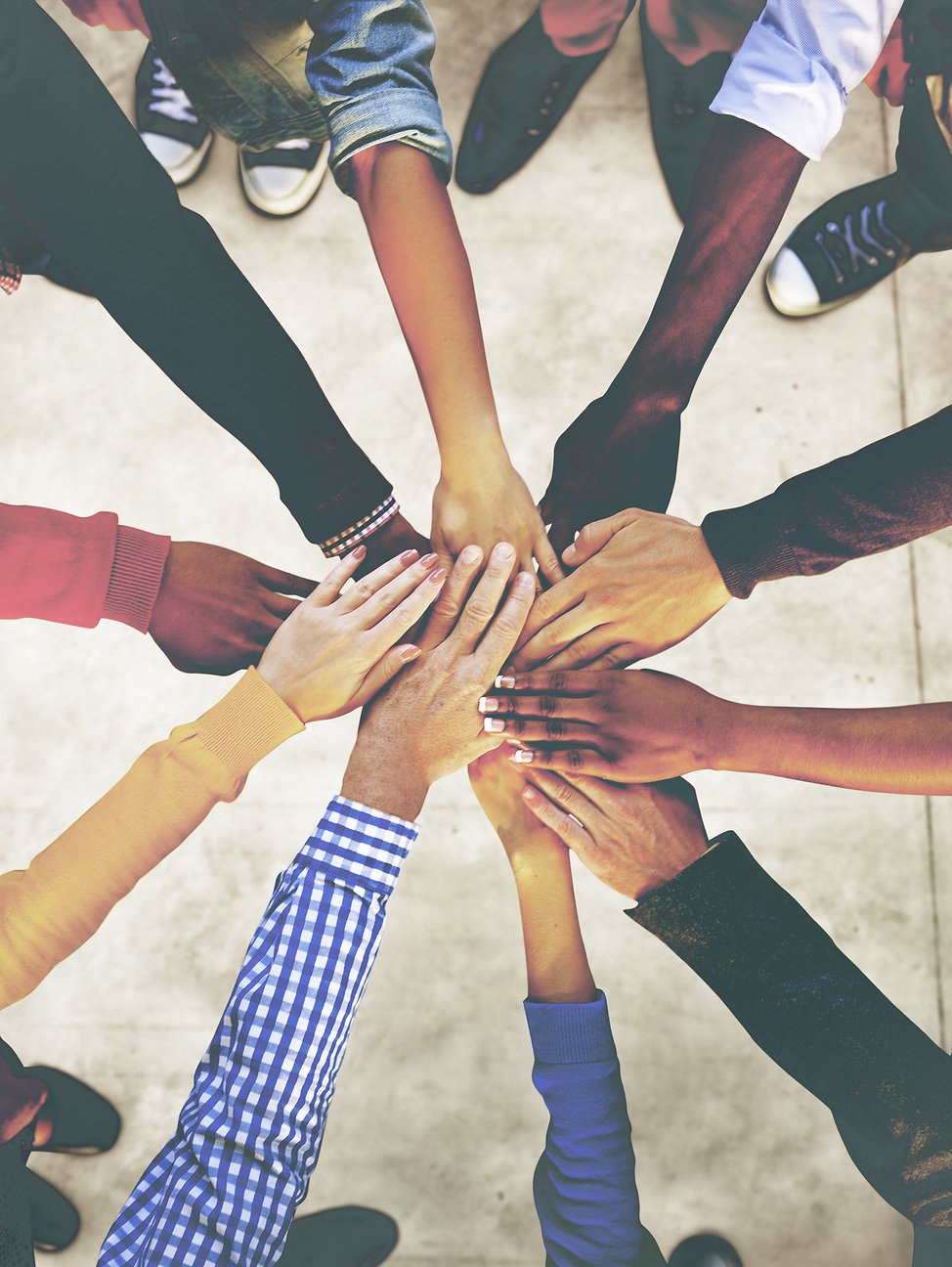 Group of Diverse Multiethnic People Team