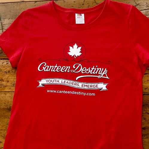 Canteen Destiny Fitted T-shirt