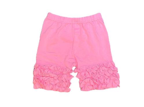 Icing Ruffle Shorts- Pink