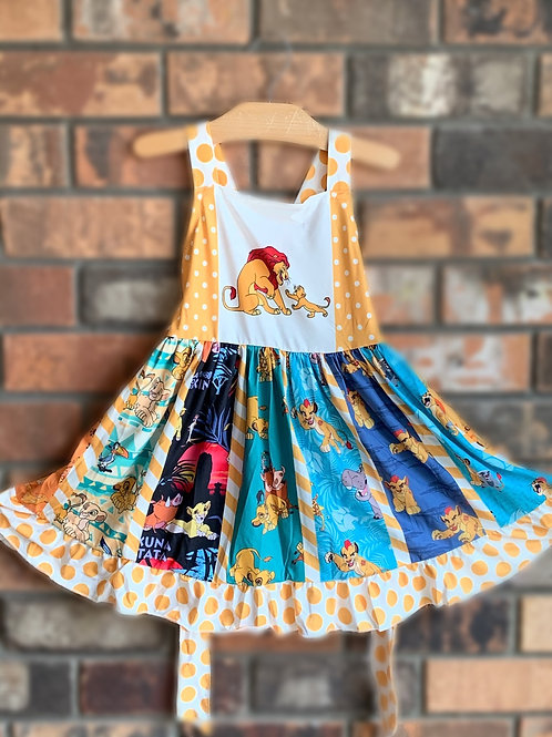 Lion King Dress