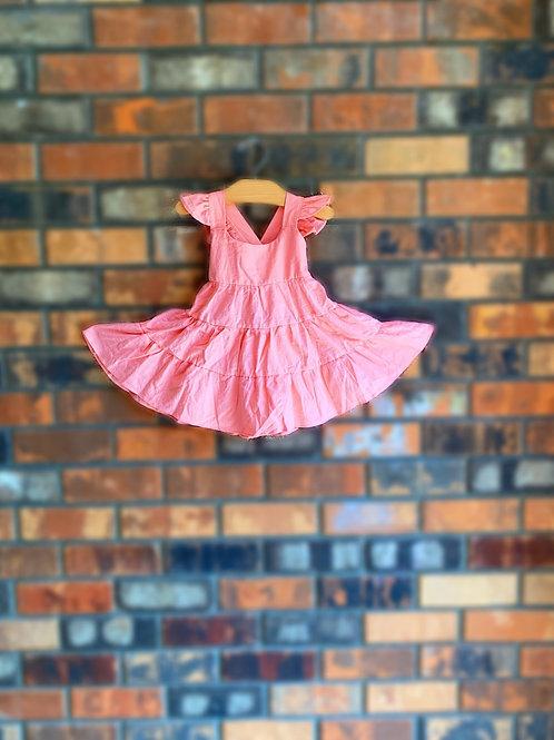 Beach Breeze Dress-Pink