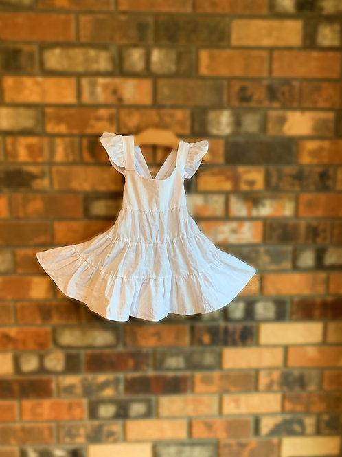 Beach Breeze Dress- White
