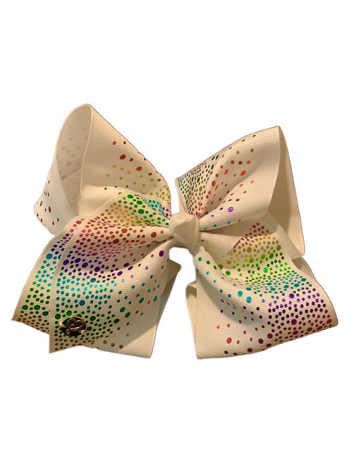 Colorful Sequin Bow