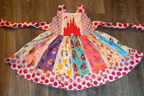 Princess Castle Dress
