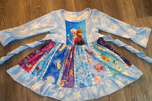 Frozen 2 Long Sleeve Dress