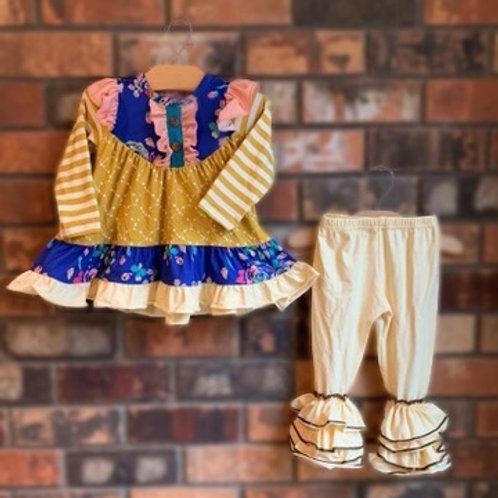 Honey Flower Pant Set
