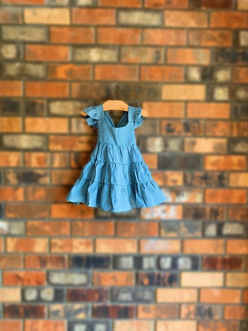 Beach Breeze Dress-Blue