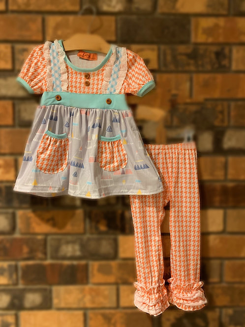 Cantaloupe Teepee 2 pc. Pant Set