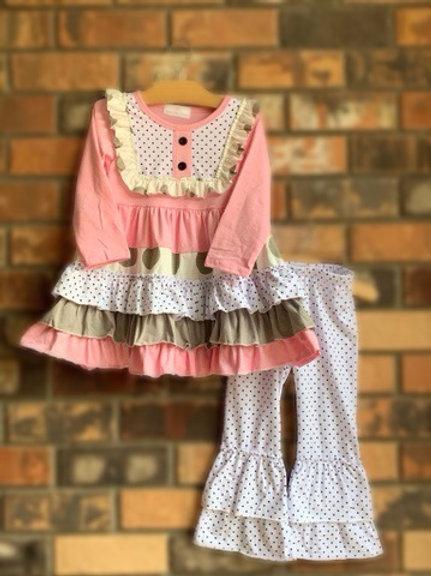 Pretty in Blush Dress & 2pc. Pant Set