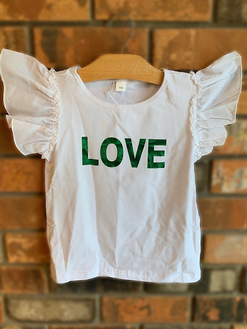 Palm Leaf LOVE Shirt