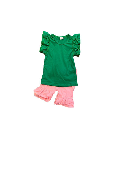 Green/Pink 2 pc