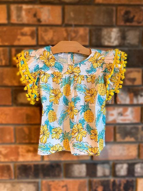 Pineapple Flower Shirt