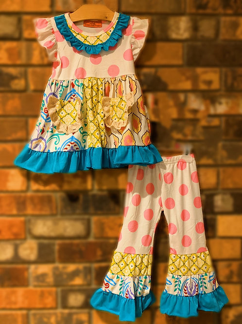 Cotton Candy Dress or 2 pc. Pant Set