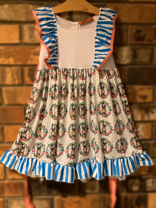 Bunny Wreath Dress or 2pc. Pant Set