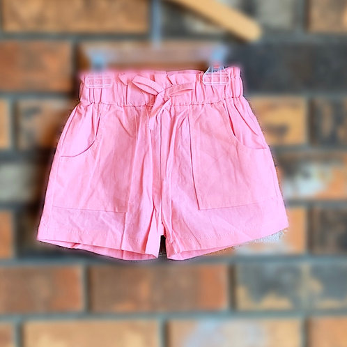 Pink Bow-Tie Shorts