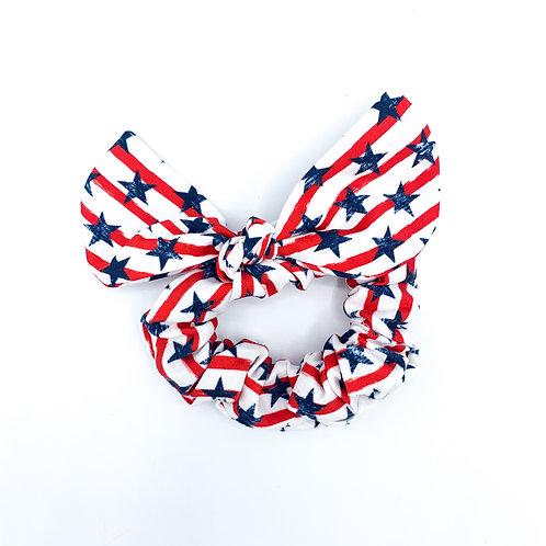 Stars and Stripes Scrunchie