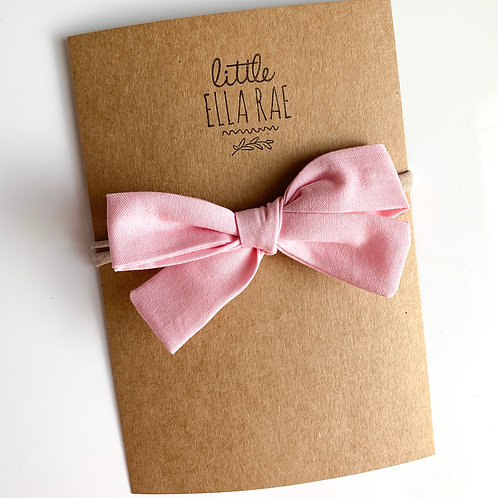 Baby Pink Quincey Bow