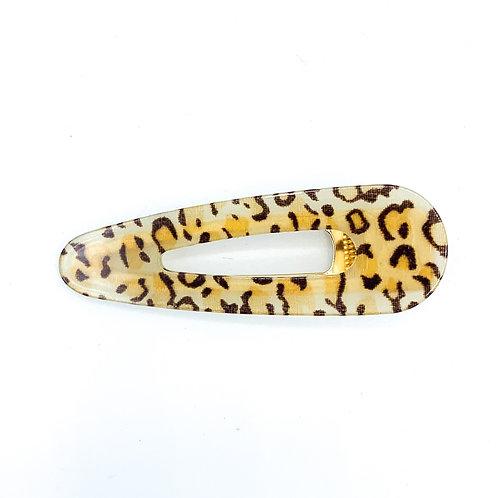 Leopard Raindrop Clip