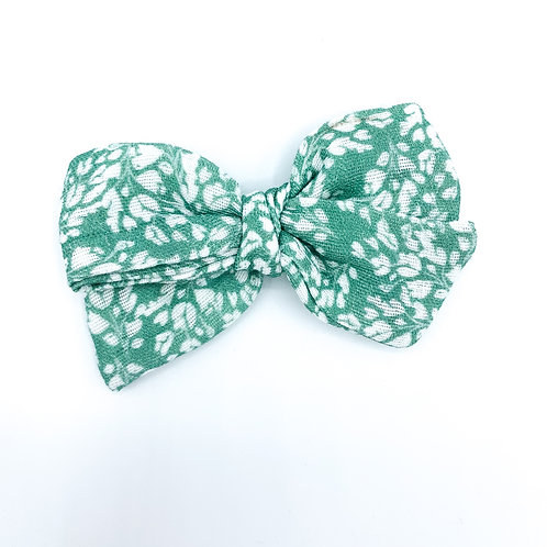 Mini Holly Fields Gauze Bow