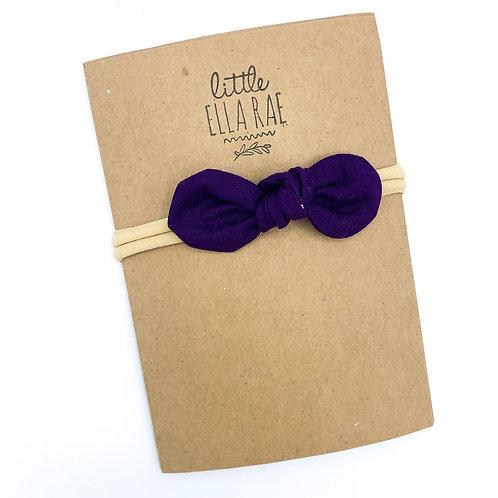 Royal Purple Remi Bow
