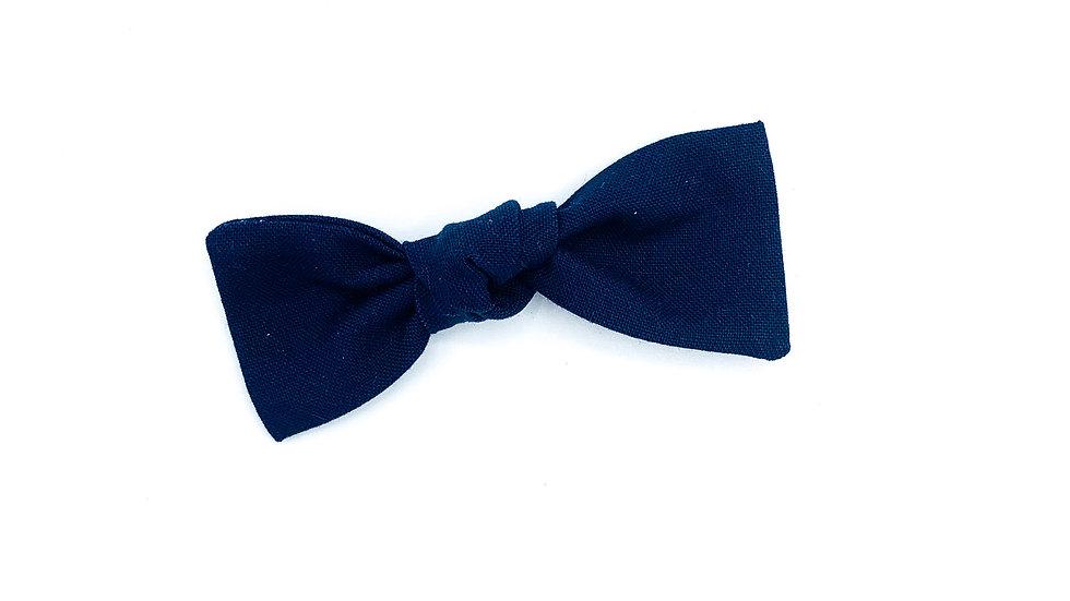 Navy Essie Bow