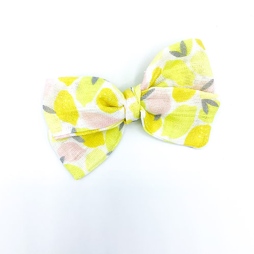 Lemonade Gauze Bow