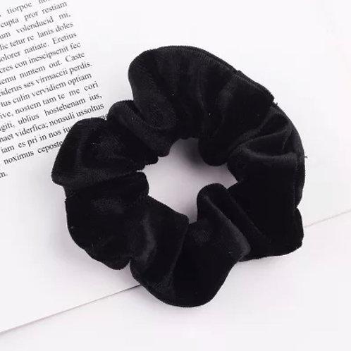 Black Velvet Scrunchie