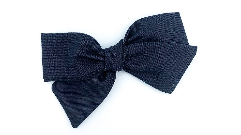Navy Quincey Bow