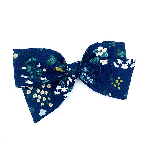 Navy Meadow Oversized Quincey