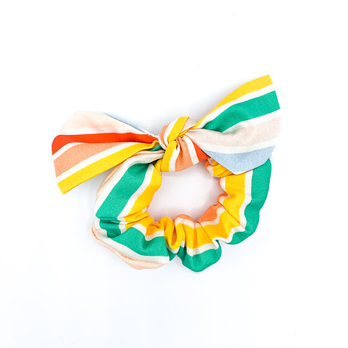 Summer Stripe Scrunchie