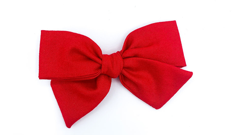 Red Quincey Bow
