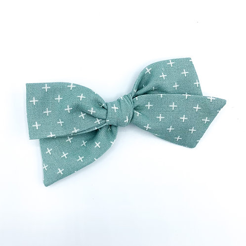 Sea Green Quincey Bow