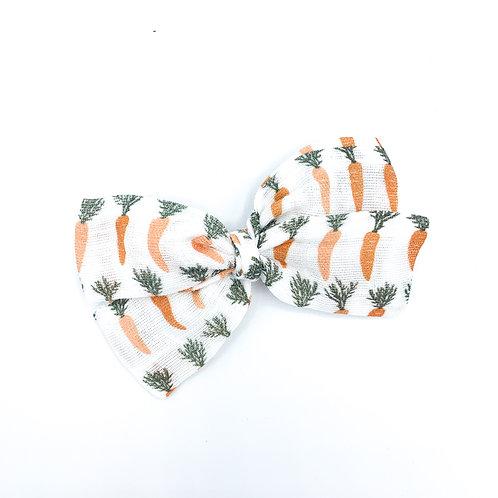 Carrots Gauze Bow