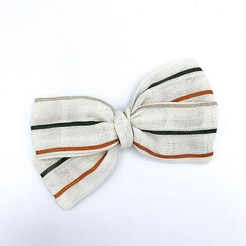 Desert Stripe Gauze Bow