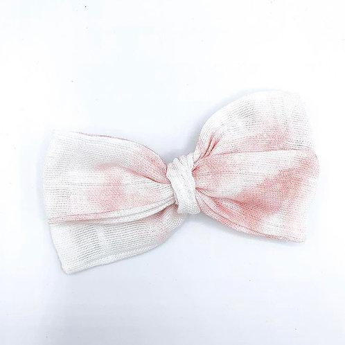 Mini Cotton Candy Gauze Bow