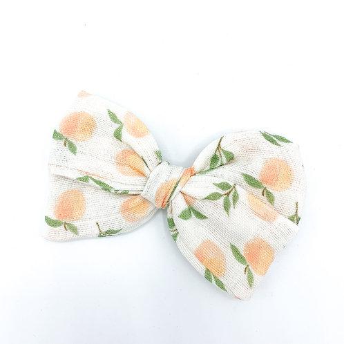 Peaches Gauze Bow