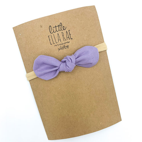Lavender Remi Bow