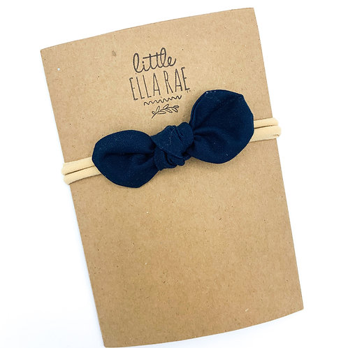 Navy Remi Bow