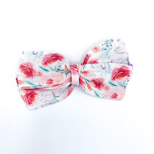 Valentine Roses Gauze Bow