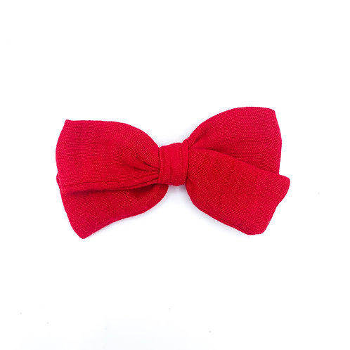 Mini Red Gauze Bow