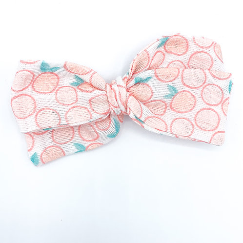 Grapefruit Gauze Bow