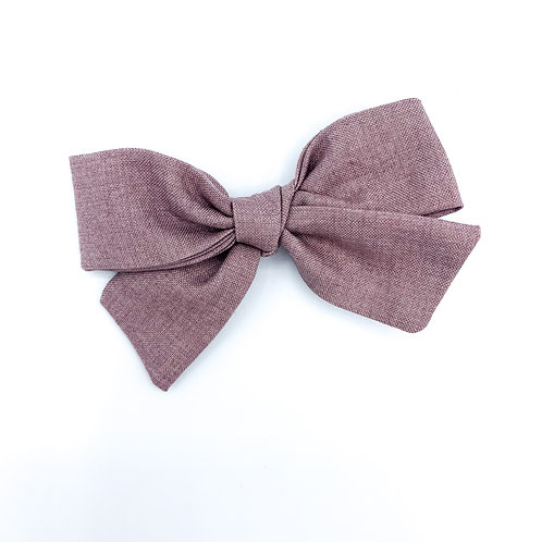 Faux Violet Linen Quincey