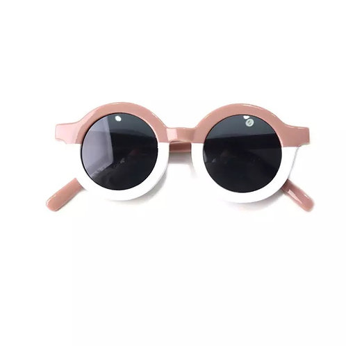 Blush Dipped Sunglasses