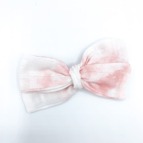 Cotton Candy Gauze Bow