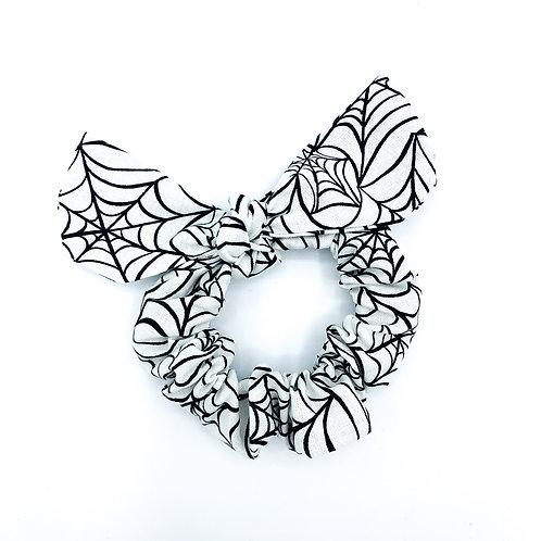 Spider Web Scrunchie