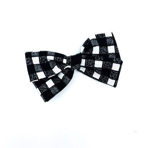Black Gingham Quincey