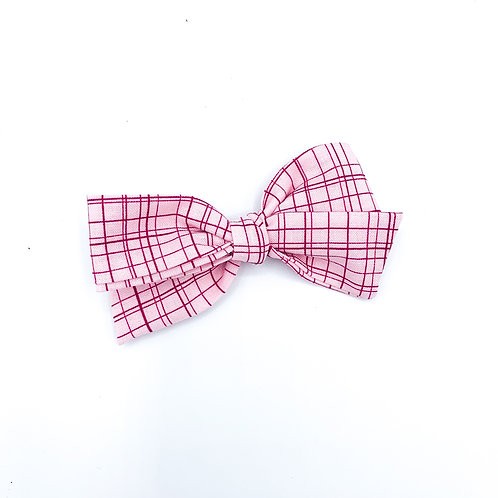 Pink and Red Grid Quincey